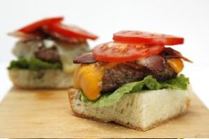 Gourmet Bacon Burgers