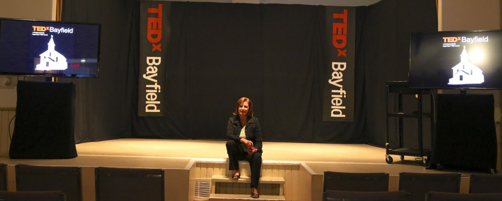 TEDx Bayfield - Stage