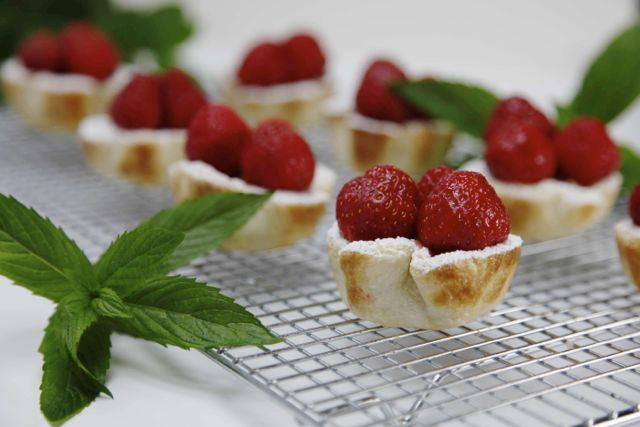 Strawberry Tarts1