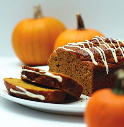 1. Pumpkin Cider Bread