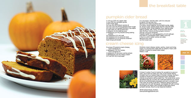Pumpkin Cider Bread